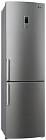 Холодильник с морозильником LG GA-B489ZMKZ -