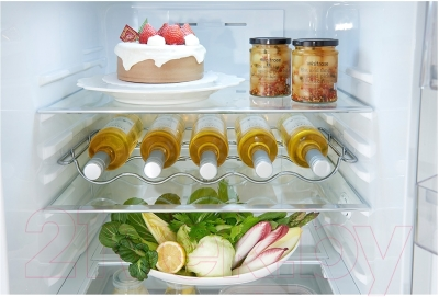 Холодильник с морозильником LG GA-B489ZMKZ