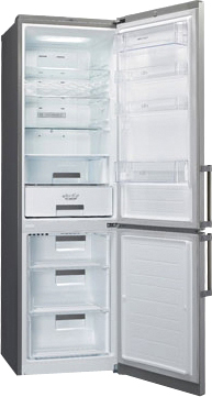 Холодильник с морозильником LG GA-B489ZMKZ - общий вид