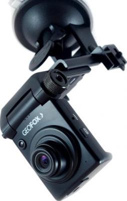 Автомобильный видеорегистратор Geofox DVR550 DOD - общий вид с креплением