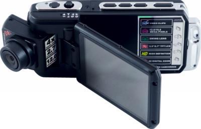 Автомобильный видеорегистратор Geofox DVR900 DOD - дисплей (поворот дисплея)
