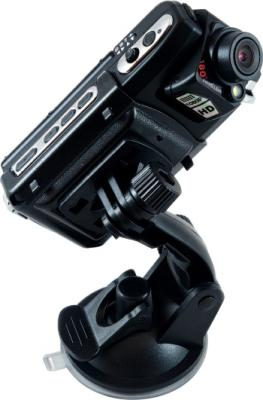 Автомобильный видеорегистратор Geofox DVR900 DOD - общий вид с креплением