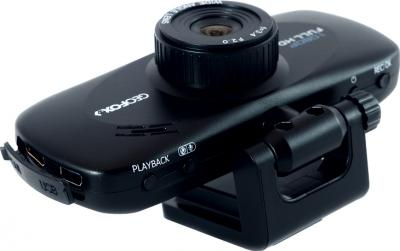 Автомобильный видеорегистратор Geofox DVR700 - вид сбоку
