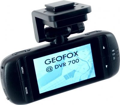 Автомобильный видеорегистратор Geofox DVR700G - дисплей