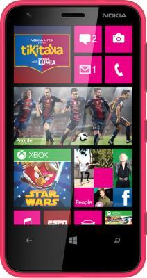 Смартфон Nokia Lumia 620 Magenta - общий вид