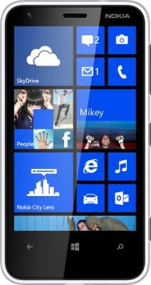 Смартфон Nokia Lumia 620 White - общий вид