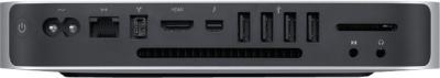 Неттоп Apple Mac mini Server (MD389RS/A) - вид сзади
