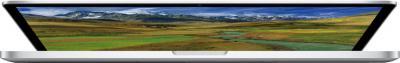 Ноутбук Apple MacBook Pro 13'' Retina (ME662RS/A) - полуоткрытый