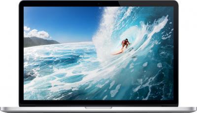 Ноутбук Apple MacBook Pro 15'' Retina (ME664RS/A) - фронтальный вид