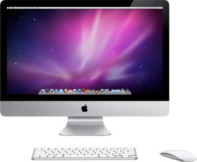 Моноблок Apple iMac 21.5'' (MD093RS/A) - фронтальный вид