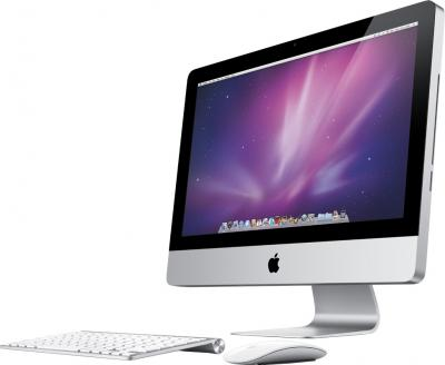 Моноблок Apple iMac 21.5'' (MD094RS/A) - общий вид