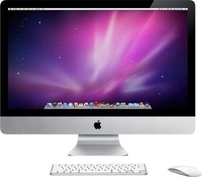 Моноблок Apple iMac 27'' (MD095RS/A) - фронтальный вид