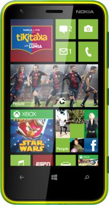 Смартфон Nokia Lumia 620 Green - общий вид