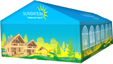 Тент-шатер Sundays 512202 - общий вид