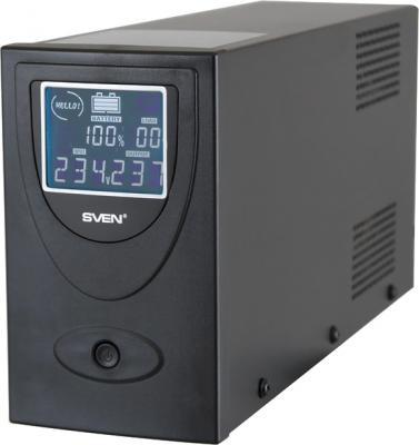 ИБП Sven Pro+ 650 (LCD, USB) - общий вид