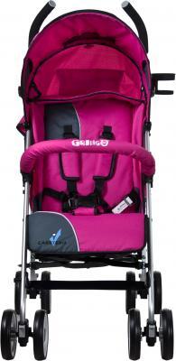 Детская прогулочная коляска Caretero Gringo (Pink) - вид спереди