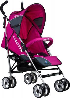 Детская прогулочная коляска Caretero Gringo (Pink) - общий вид