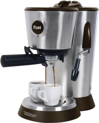 Кофеварка эспрессо Zelmer 13Z014 (Brown) - общий вид
