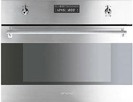 Электрический духовой шкаф Smeg S45VCX2 - общий вид
