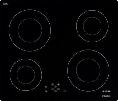 Индукционная варочная панель Smeg SE641ID2 - общий вид