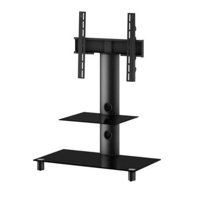 Стойка для ТВ/аппаратуры Sonorous Neo 81 Black Glass-Black - общий вид