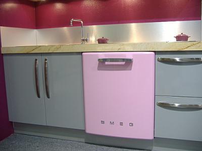 Посудомоечная машина Smeg ST2FABRO2 - в интерьере
