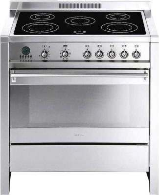 Кухонная плита Smeg CS19ID-6 - общий вид