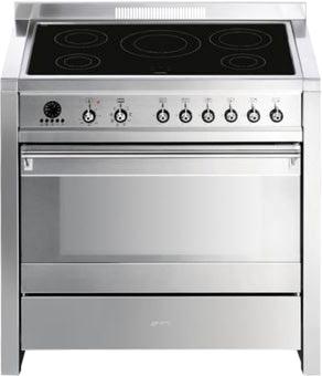 Кухонная плита Smeg CS19ID-7 - общий вид