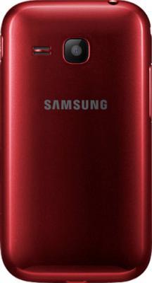 Мобильный телефон Samsung C3312 Rex 60 Duos Flamingo Red - задняя крышка