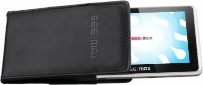 GPS навигатор SeeMax navi E550 HD DVR 8GB - вид спереди