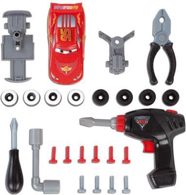 Детский набор инструментов Smoby Ремонтная мастерская Тачки с машинкой Маккуин (500189) - набор