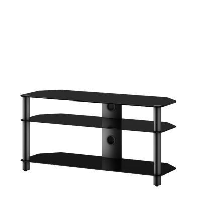 Стойка для ТВ/аппаратуры Sonorous Neo 3110 Black Glass-Black - общий вид