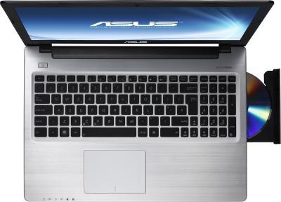 Ноутбук Asus K56CM (90NUHL424W11136013AY) - вид сверху