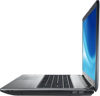 Ноутбук Samsung 350E7C (NP350E7C-S0BRU) - вид сбоку