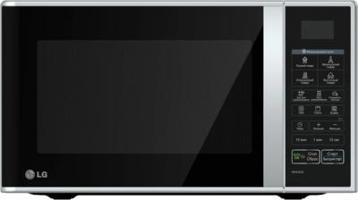 Микроволновая печь LG MH6342BS - фронтальный вид