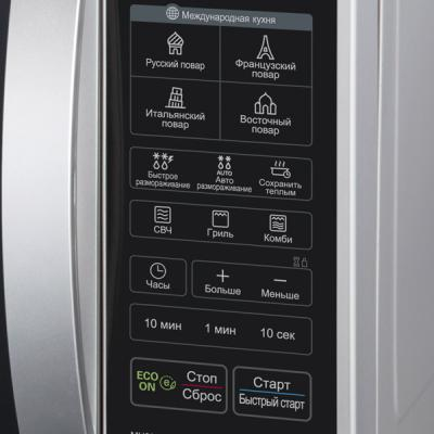 Микроволновая печь LG MH6342BS - панель управления