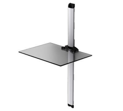 Кронштейн под аппаратуру Sonorous PL 2610 Transparent Glass-Silver - общий вид