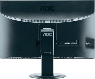 Монитор AOC M2752PQU - вид сзади