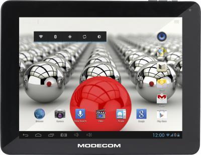Планшет Modecom FreeTAB 8001 IPS X2 16GB 3G - фронтальный вид