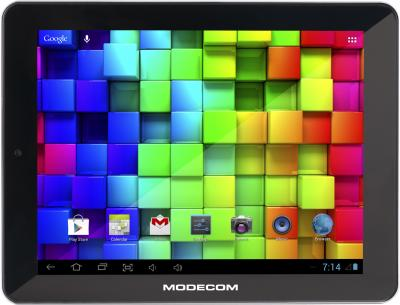Планшет Modecom FreeTAB 8014 IPS X4 16GB (черный) - фронтальный вид