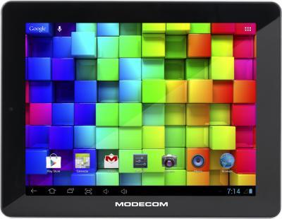 Планшет Modecom FreeTAB 9704 IPS2 X4 16GB - фронтальный вид