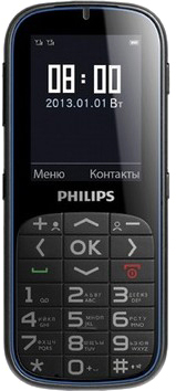 Мобильный телефон Philips X2301 - общий вид