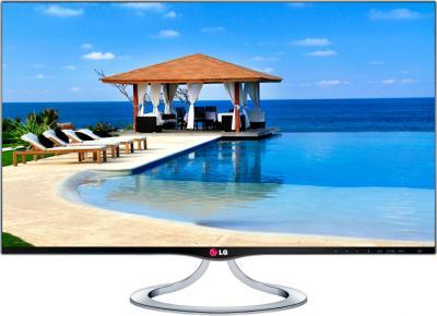 Телевизор LG 27MT93V-PZ (Black) - вид спереди