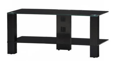 Стойка для ТВ/аппаратуры Sonorous PL 3415 Black Glass-Black - общий вид