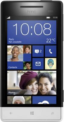 Смартфон HTC Windows Phone 8S Black - общий вид