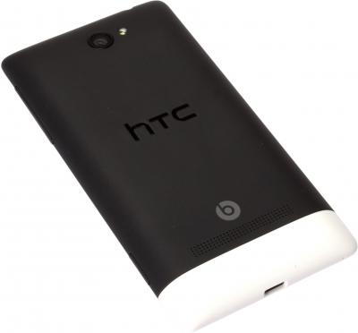 Смартфон HTC Windows Phone 8S Black - задняя крышка