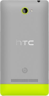 Смартфон HTC Windows Phone 8S Gray - задняя крышка