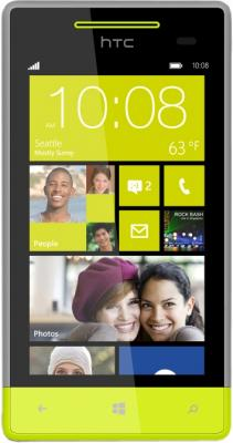 Смартфон HTC Windows Phone 8S Gray - общий вид
