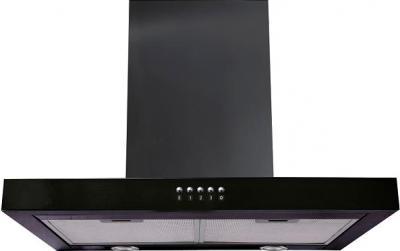 Вытяжка Т-образная Backer CH60A-L120 (Shiny Black ) - общий вид