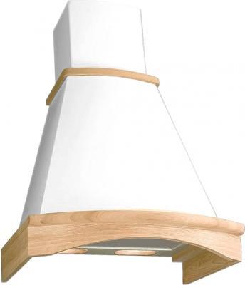 Вытяжка купольная Elikor Ротонда (венец. штукатурка/дуб неокрашен.) - общий вид